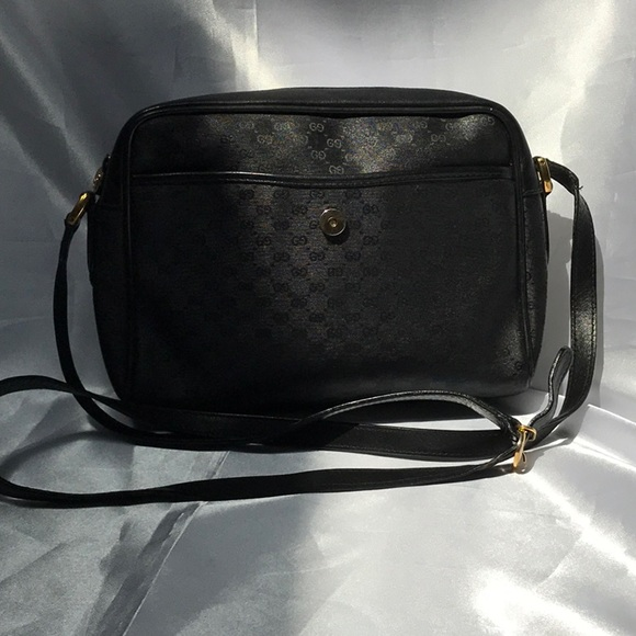 Handbags - Authentic Black Gucci Crossbody Bag